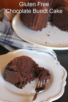 Gluten Free Dairy Free Chocolate Bundt Cake