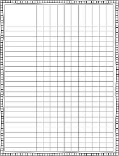 Blank Class List Template | Finally, a cute lesson plan template. It looks crooked but it's not ...