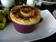 Chicken pot pie at Simbithi Country Club's Fig Restaurant