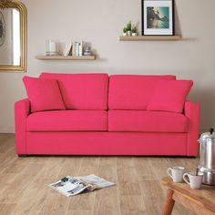 13 petits canapés stylés pour petits espaces Decor, Pink Sofa, Furniture, Living Room, Sofa, Home, Sofa Cama, Couch, Home Decor