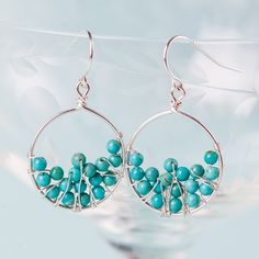 Your fashion sense will leave a legacy when you're seen with these earrings. I like the color of these!
