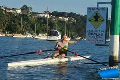 """:-) Our river needs one that says: """"Rowers on water. You don't want to make the Coach angry. Victoria Lake, Rowing Club, Stay In Shape, Hockey Players, Easy Weight Loss, Water Sports, 6 Years, Kayaking, The Row"""