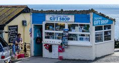 Lizard Point Gift Shop - Lizard Point, Cornwall, England, UK