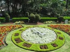 Zoo's Floral Clock.
