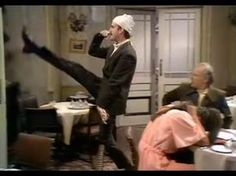 ▶ Don't Mention the War! - Fawlty Towers - BBC - YouTube. this is so hilarious