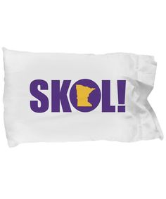 Vikings Minnesota Vikings fan pillowcase Standard size, super-soft microfiber pillowcase Measures Pillow not included Nfl Vikings, Minnesota Vikings Football, Gifts For Football Fans, Football Wall, Viking Birthday, Golf Stores, Nfl Fans, Cheer, Pillow Cases