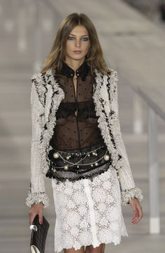 Chanel at Paris Fashion Week Spring 2004 - StyleBistro