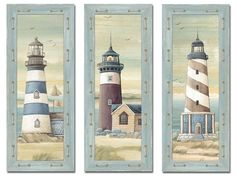 Light house prints great for beach house