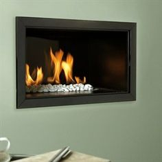 Verine Atina Slimline Hole-in-the-Wall Gas Fire £710 inc VAT + Delivery