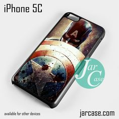 Captain America Shield YD Phone case for iPhone 5C and other iPhone devices