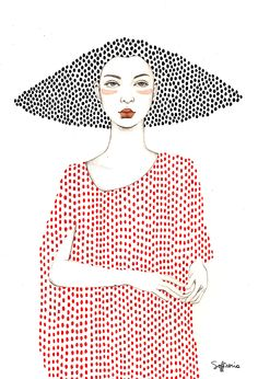 Sofia Bonati - Illustration - Elle (Girls series)