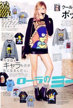 Rola in a Japanese Fashion Magazine