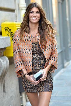 Bianca Brandolini D'adda | the jacket is cute not the dress