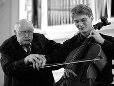Mstislav Rostropovich - Cellist cello lessons teaching