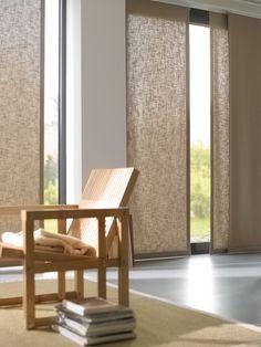 Panel Oriental.  Luxaflex® HunterDouglas.