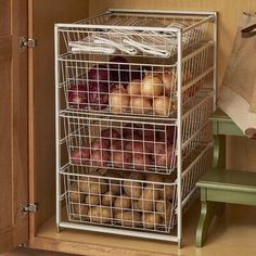 $101.99 · ClosetMaid ClosetMaid ventilated wire drawer systems provide convenient, drawer storage for closets and other areas in the home. The drawer kit includes 4 basket drawers and a frame, making it perfect for use in your pantry, kitchen, closet or anywhere in your home! #Storage #DIY