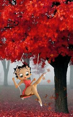 Bisous Gif, Imagenes Betty Boop, Black Betty Boop, Boop Gif, Betty Boop Cartoon, Images Gif, Betty Boop Pictures, Butterfly Wallpaper, Animated Gif