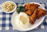 Dutch Heritage Broasted Chicken.  Man can the Amish cook!