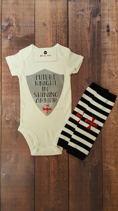 Check out this item in my Etsy shop https://www.etsy.com/listing/493507576/baby-boy-clothes-future-knight-in