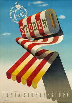 Tenta Storen Herbert LEUPIN – 1955 circa