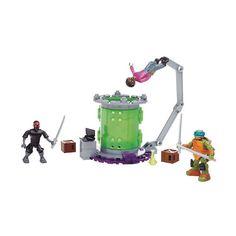 Mega Bloks Teenage Mutant Ninja Turtles Baxter Mutation Lab, Multicolor