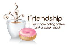 coffee friend | Friendship Greetings: Friendship Coffee Cards, Coffee with Friends