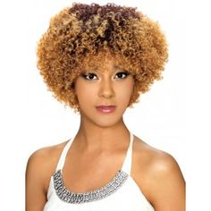 Zury Sis Afro Natural Wig Bantu for when I want to be me without the effort