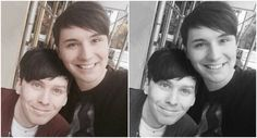 we will always find a way to edit these.always *starts thinking hp refs* darn it Dan Howell, Daniel James Howell, Chris Kendall, Hello Internet, Phan Is Real, Just Good Friends, Dan And Phill, Phil 3, Danisnotonfire And Amazingphil