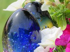#Blå#glas