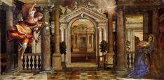 The Annunciation, 1578 Paolo Veronese