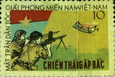 National Liberation Front Vietnam | The National Liberation Front stamp, above, commemorated the 1963 Viet ...