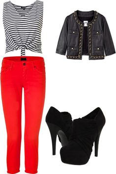 """l"" by karla-urquizo ❤ liked on Polyvore"