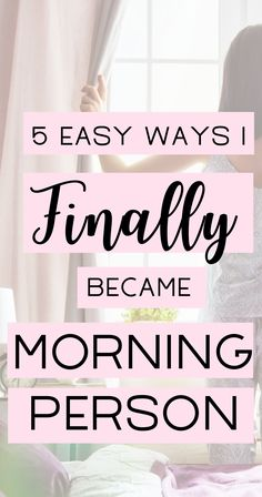 Finding it difficult to become a morning person? These simple hacks will help you wake up energized and become a morning person in no time! Master your morning routine (and no, you don't have to wake up at Self Development, Personal Development, Leadership Development, 5am Club, Morning Routines, Daily Routines, Morning Habits, Morning Person, College Hacks