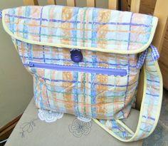 Large washable padded Bag Laptop Bag Nappy Bag by dorotheasdesign