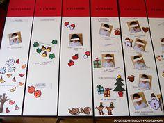Il calendario di Maestra Valentina: meraviglioso!