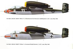 """Heinkel He 162 Volksjäger (German, """"People's Fighter"""")"""