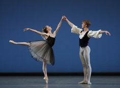 Sterling Hyltin and Chase Finlay New York City Ballet