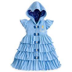 81decd960 Disney Store Princess Cinderella Little Girl Swimsuit Cover Up (5/6) Little  Girl