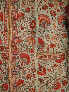 Child's Coat, second half 19th century, India, probably Kashmir; wool, silk, twill weave, embroidered.