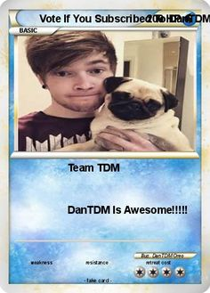 Pokemon Vote If You Subscribed To DanTDM