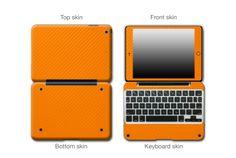 Orange Carbon Fiber #ClamCasePro #Pro #iPad #iPadMini #Apple #Tablet #Tablets #Computers #Keyboard #Gadget #Gadgets #Electronics #Electronic #Shield #Shields #Protector #Protectors #Decals #Skin #Skins #Wrap #Wraps #Vinyl #3M #CarbonFiber #Fibre #Red #Blue #Black #Graphite #VinylWraps #Chrome #CarbonFiber #Rvinyl  25% Off All Chrome Use code CHROME =============================== http://www.rvinyl.com/Chrome-Vinyl-Film-Wraps.htm