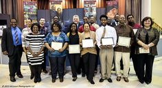 Graduating Class at Bethel New Life on 1-23-15 with certificates in Advanced Manufacturing theory and practical skills training. Photo: McLaren Photographic #TMA #mclarenphotos #BethelNewLife