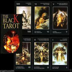 NEU The Black Tarot EROTIK TAROT LUIS ROYO Künstler Karten Kartenlegen