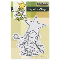 Penny Black - Slapsticks Cling Mounted Stamp - Little Elf Ava