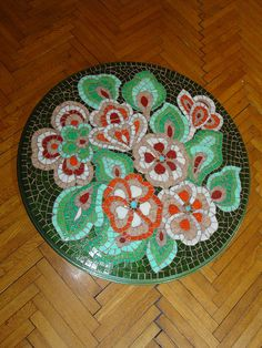Mosaic coffee table 1 Finised 1 by mozaikci, via Flickr