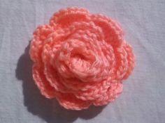 Easy Crochet Rose Pattern for Beginners