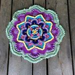 Crocodile Stitch Flower - B.hooked Crochet