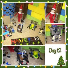 Easy Elf on the Shelf playing with toys Idea and 134 Simple Elf on the Shelf Ideas