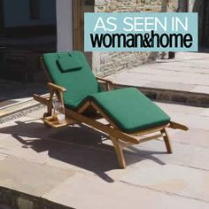 Garden Furniture: Amalfi Garden / Patio Balau (Premium Quality) H/wood fully adjustable Sun Lounger