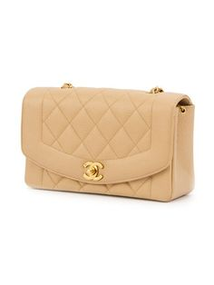 1ff692b78ca7 Chanel Vintage Diana Flap Bag Quilted Lambskin Small (1,620 CAD ...